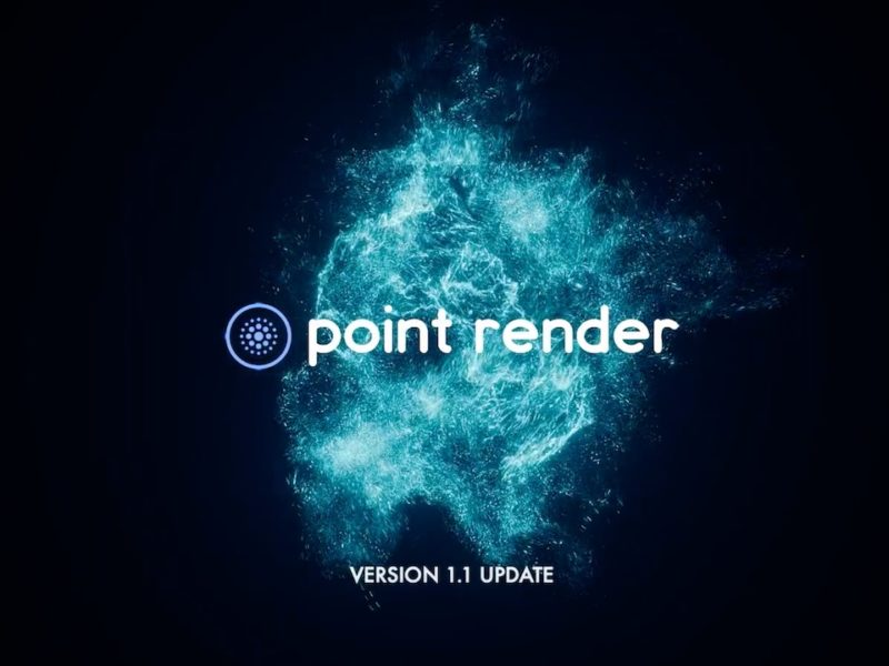 Point Render 1.1 Released